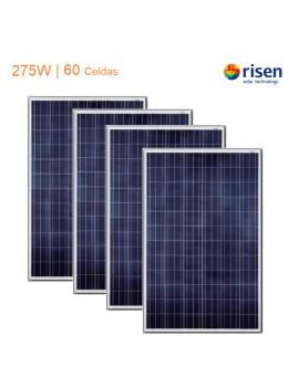 Pack x 4 Paneles Solares...
