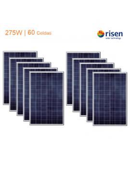 Pack x 10 Paneles Solares...