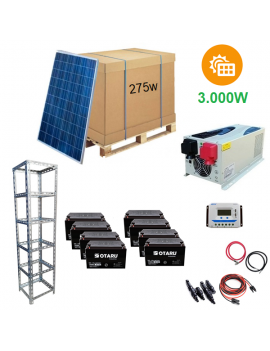 Kit Fotovoltaico Hogar...
