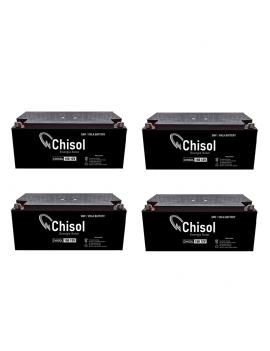 Pack x 4 Baterias Ciclo...