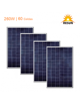 Pack 4 Paneles Solares...